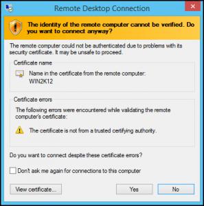 آموزش اتصال به ویندوز سرور